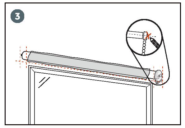 instalacion cortinas roller paso 3