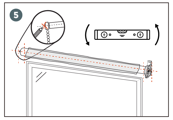 instalacion cortinas roller paso 5