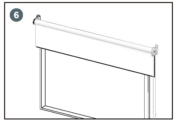 instalacion cortinas roller paso 6