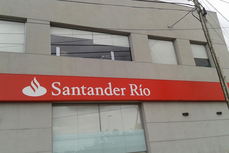 Obra Banco Santander Río Florencio Varela - Cortinas Roller Roller Screen Black Out