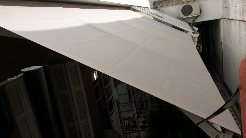 Proyecto toldo brazos invisibles para ph en palermo for Fabrica de brazos invisibles para toldos