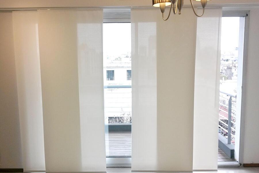 Cliente Eliana - Cortinas Roller Sistema Doble y Panel Oriental