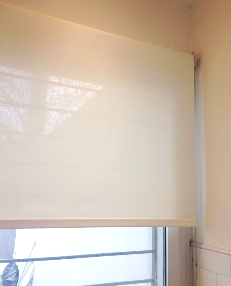 Roller Screen 1% Blanco