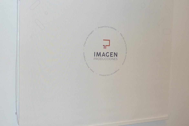 Proyecto para Imagen Producciones - Cortina Roller Screen 5% con logo Impreso