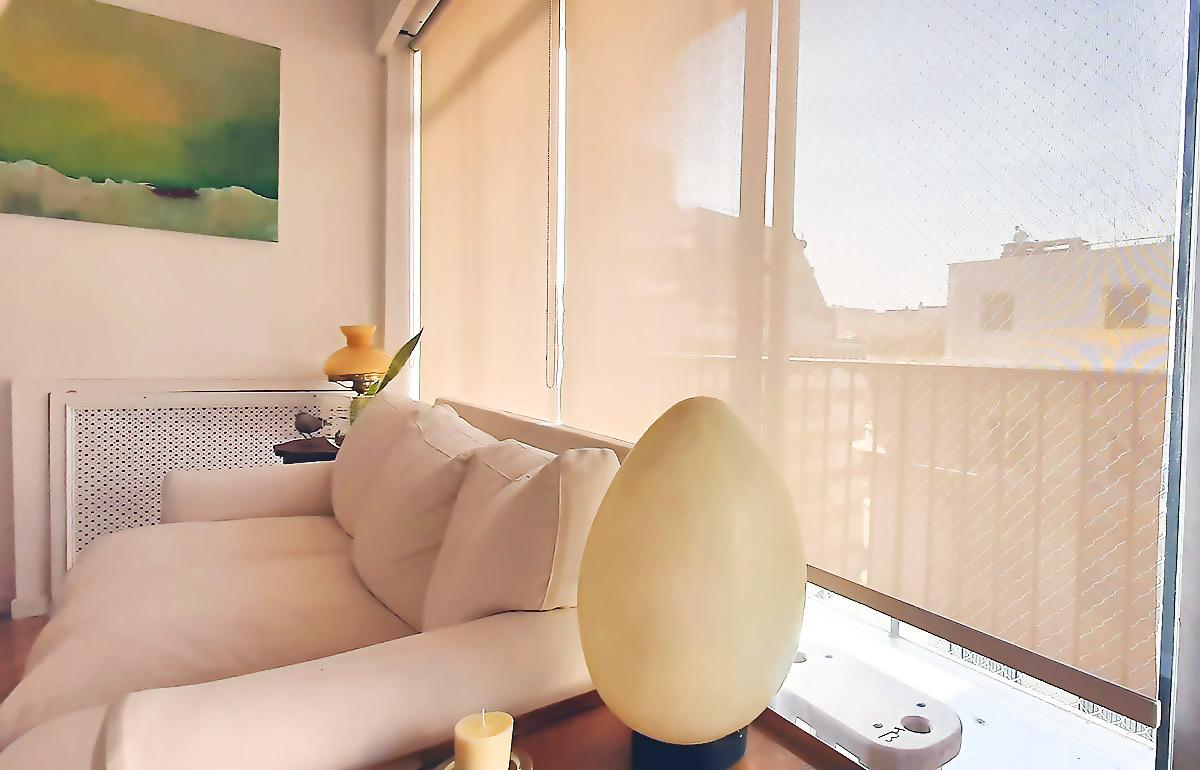 cortina roller sun screen white-linen