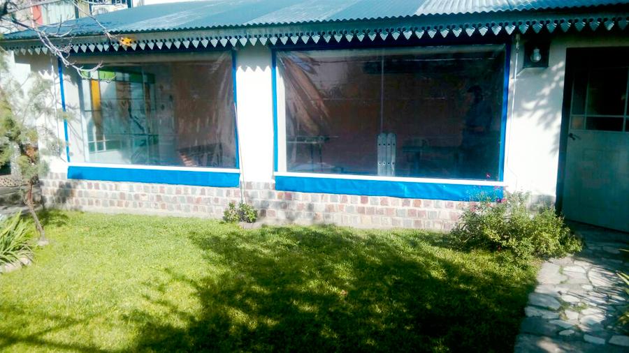 Toldo Vertical PVC Transparente Colegiales