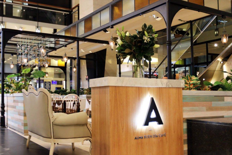Toldos Romanos Shopping Abasto Alma Cafe