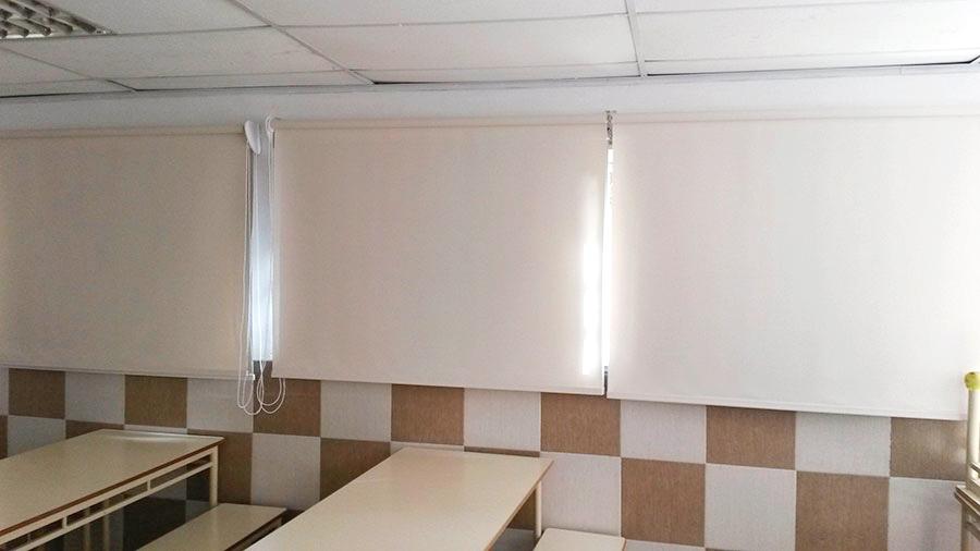 roller screen aula