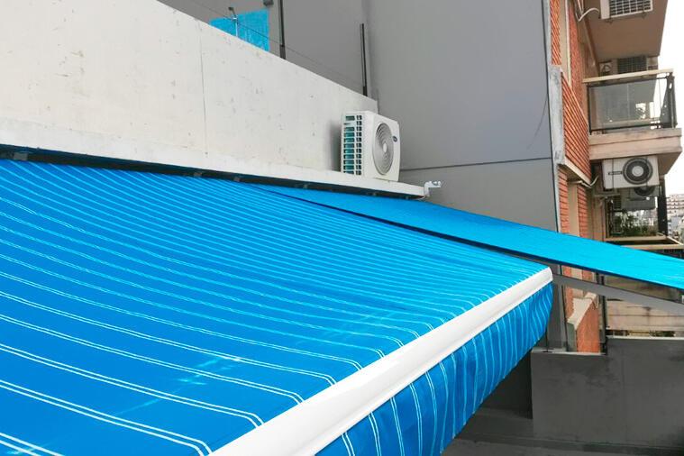 Automatización para Toldos Brazos Invisibles y Cortinas Roller en Palermo