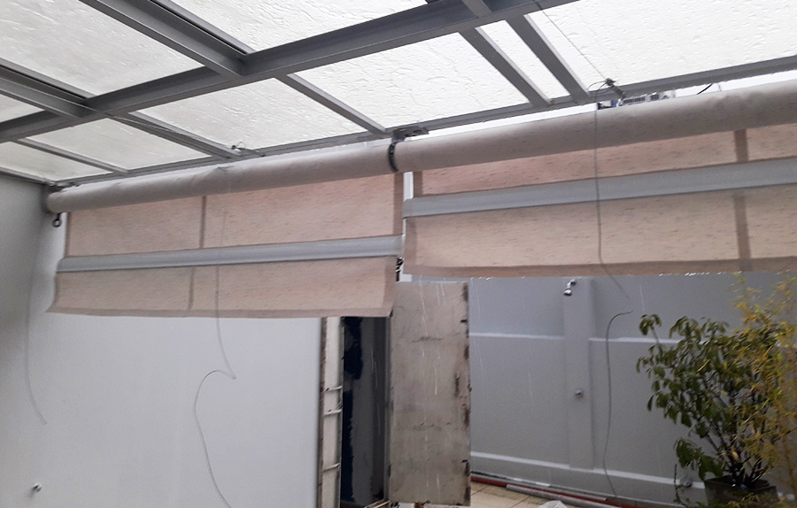 Toldos verticales acrilica terraza palermo f brica de for Toldos verticales para terrazas