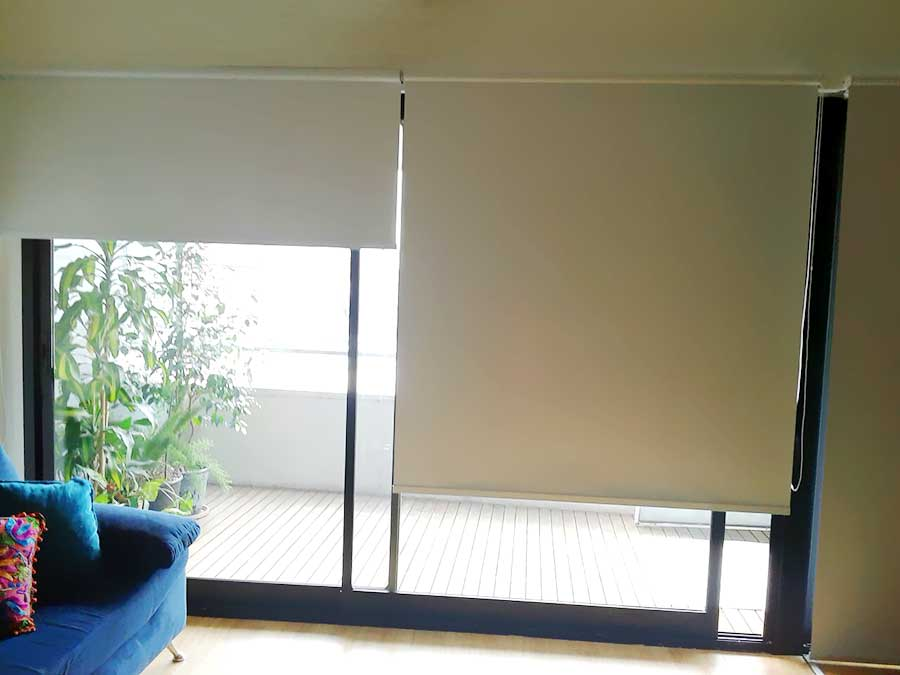 Cortinas Roller Black Out Colegiales