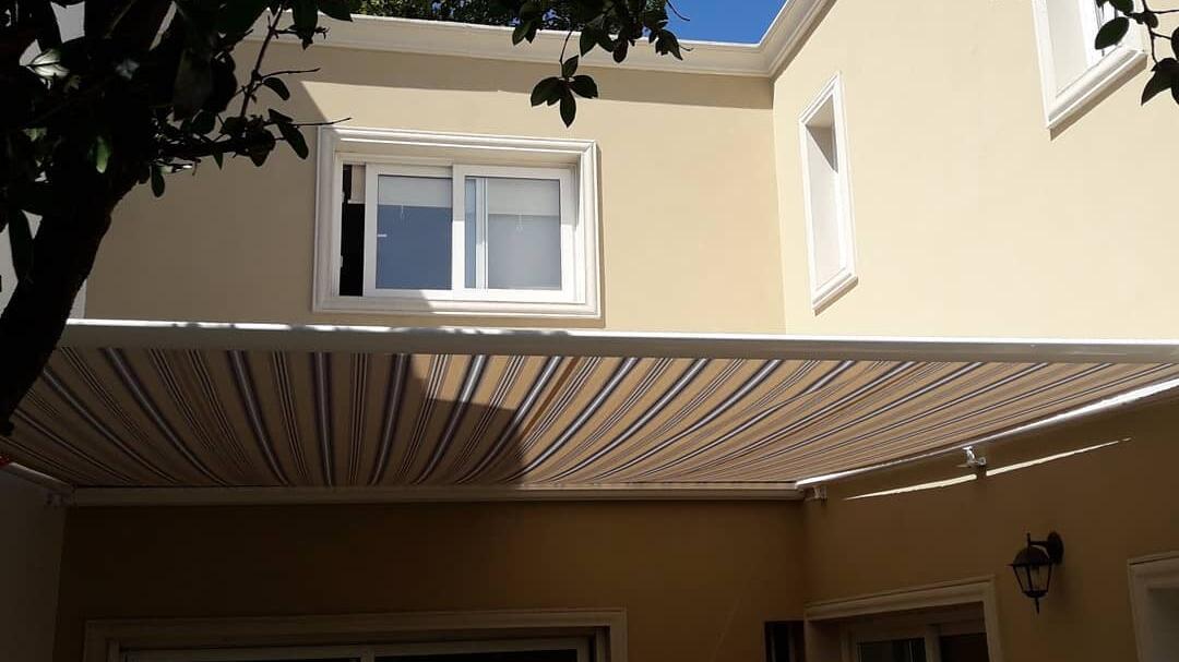 Toldo techo para Galería, Jardín, Pergola