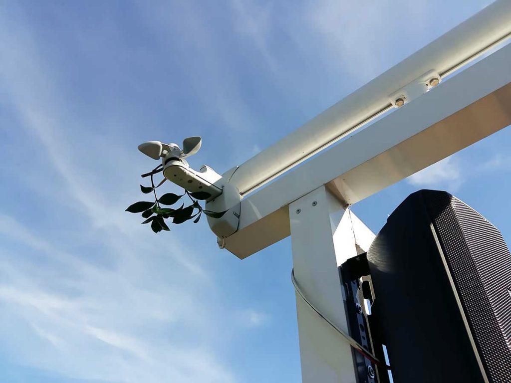 sensor viento motor somfy