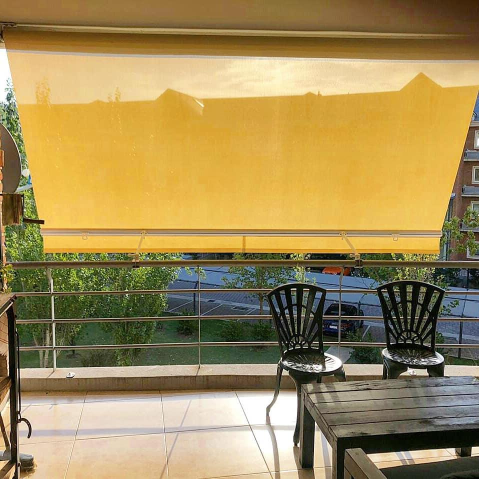 toldo balcón microperforada sunworker diclson